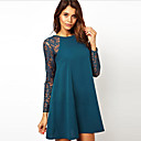 Manni ženska causual čipka linije haljina
