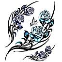 Tetovaže naljepnice - Flower Serija - za Žene/Muškarci/Odrasla osoba/Boy - Uzorak - 31*21.5cm - Uzorak/Velika veličina/Donji dio leđa/Waterproof - 1