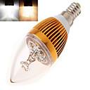 12W E14 LED svjećice Visokonaponski LED 350 lm Toplo bijelo / Hladno bijelo AC 85-265 V 1 kom.