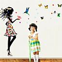 zidne naljepnice zidne naljepnice, boja leptir san princeza PVC zidne naljepnice
