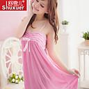 Ženy Ultra sexy Noční prádlo Jednobarevné-Polyester Růžová Dámské