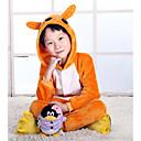 Kigurumi Pidžame kengur Hula-hopke/Onesie Halloween Zivotinja Odjeća Za Apavanje Bijela Kolaž Flis Kigurumi DijeteHalloween / Božić /