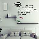 壁のステッカー壁のステッカー、英語の単語&PVCウォールステッカーを引用