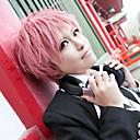 Cosplay Paruky Blue Exorcist Renzo Shima Růžová Short Anime Cosplay Paruky 35 CM Horkuvzdorné vlákno Dámský