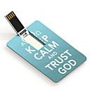4 GB zachovat klid a důvěřovat Bohu design karty USB flash disk