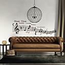 zidne naljepnice zidne naljepnice, stil glazbe virus engleske riječi&citati PVC zidne naljepnice