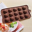 bakeware obliku silikon osmijeh lice pečenje kalupi za čokoladu