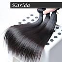 3 ks / lot malajské lidské vlasy tkát, nezpracované velkoobchodní panenský malajské vlasy rovné