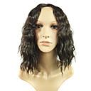 popularni modni u Europi i crna kosa simulacije ljudske kose perika