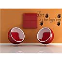 ljubav je četveronožnog riječ DIY citat zidne naljepnice zooyoo8066 dnevni boravak prijenosnih vinil zidne naljepnice uređenje doma