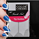 100pcs profesionalna izrada obrazac nail art alat (5x20pcs) # 10