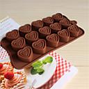bakeware obliku silikon srce pečenje kalupi za čokoladu