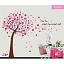 šareni cvijet drvo za djecu soba zid decal zooyoo9026 dekorativne prijenosnih PVC zidne naljepnice