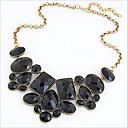 Novi dolazak fashional retro nepravilni geometrijski dragulj ogrlicu