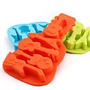 kytara tvaru silikonové formy na pečení led / čokoládu / bábovka (náhodné barvy)