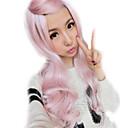 Lolita sex proizvodi roza perika duge šiške sintetički kovrčave kose perika vlasulja ombre jeftini anime Cosplay perika
