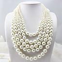 Párty Slitina/Imitace perly Skládané