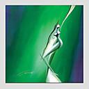 Ručno oslikana SažetakModerna / Europska Style Jedna ploha Platno Hang oslikana uljanim bojama For Početna Dekoracija