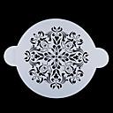 Four-C dort top dekor šablona dort konstrukce šablona cukr řemeslnické nářadí barva bílá
