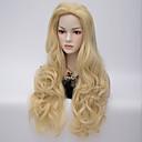 Evropské a americké modely výbuchu módní paruka z vysoce kvalitních umělých vlasů paruky
