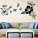 花PVCウォールステッカーで3Dウォールステッカー壁ステッカースタイルの蝶