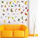 samolepky na zeď lepicí obrazy na stěnu ve stylu barevné motýly PVC samolepky na zeď