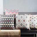 4ポストモダンライト抽象的な正規の矢印装飾枕カバーのセット