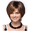 女性の女性の短い直線人工毛かつらホット販売