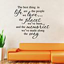 zid naljepnice zid naljepnice stil Novi život najbolje engleske riječi&citati PVC zidne naljepnice
