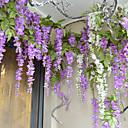 Větev Hedvábí Fialová Květina na stůl Umělé květiny 106.93 (42.1'')