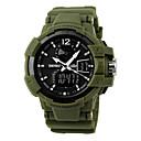 Pánské Náramkové hodinky Japonské Quartz LED / Kalendář / Chronograf / Voděodolné / Hodinky s dvojitým časem / poplach / Sportovní hodinky
