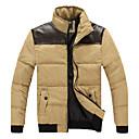 Retro / Ležérní / Párty / Práce Véčkový výstřih - Dlouhé rukávy - MEN - Coats & Jackets ( Bavlna / Viskózové vlákno )