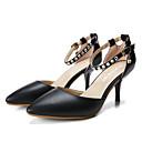 ženske cipele istaknuo toe sa zakovica šupljim-out stiletto potpeticama s kopčom za odijevanje / povremeni više boja na raspolaganju