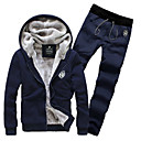 Ležérní Kapuce / Mid Rise - Dlouhé rukávy - MEN - Suits ( Bavlna )