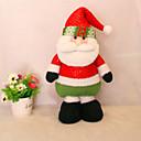 """50cm / 19.7 """"Božićni ukras dar stoji Djed Božićnjak lutka pliš igračku Nova godina dar"""