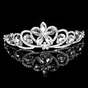韓国の花嫁の結晶ダイヤモンドは、新しいハイエンドの結婚式の宝石類の王冠