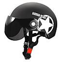 Glanzend zwart - Unisex - Helm