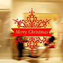 Vánoční dekorace nástěnné nálepky okno samolepky dovolená Santa Claus ozdoby vánoční stromky zvony