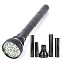 Osvětlení LED svítilny LED 22000 Lumenů 5 Režim Cree XM-L2 18650Voděodolný / Dobíjecí / Odolný proti nárazům / Strike Bezel / Taktický /