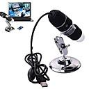 500x microscope numérique USB caméra endoscope loupe noir