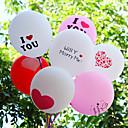5pcs napraviti svatove brak sobu ukrasiti ukras zadebljanje tisak balon