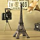kreativní 18 cm výška mini kamínky železo plechove pařížské Eiffelovy věže
