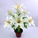 Polyester Ljiljani Umjetna Cvijeće