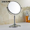 Zrcadlo Chrom Volně stojící 20cm(8inch) Mosaz Moderní