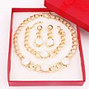Šperky-Náhrdelníky / Küpeler / Náramek(Slitina / Štras)Svatební / Párty Svatební dary