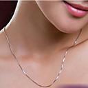 Šperky Řetízky Svatební / Párty / Denní / Ležérní Postříbřené 1ks Dámské Svatební dary
