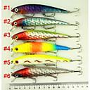 """6 ks Pevné návnady / Střevle různé barvy 150 g/1/4 Unce,120 mm/4-3/4"""" palec,tvrdý plastMořský rybolov / Obecné rybaření / Chytaní"""
