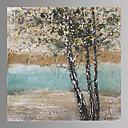 Krajina / Botanický motiv Na plátně Jeden panel Připraveno k Pověste , Obdélníkový