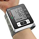 ck®ome自動デジタル手首カフ血圧モニター手首メーターパルス血圧計の液晶ディスプレイ