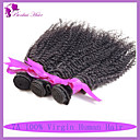 lidský vlas panna peruánský kudrnaté vlasy dobrá cena nezpracované peruánský vlasy 3 svazky Kinky kudrnaté